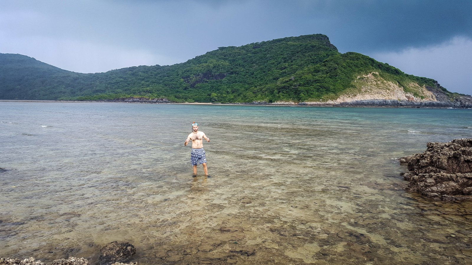 Snorkeling at Dam Tre Bay - Con Dao