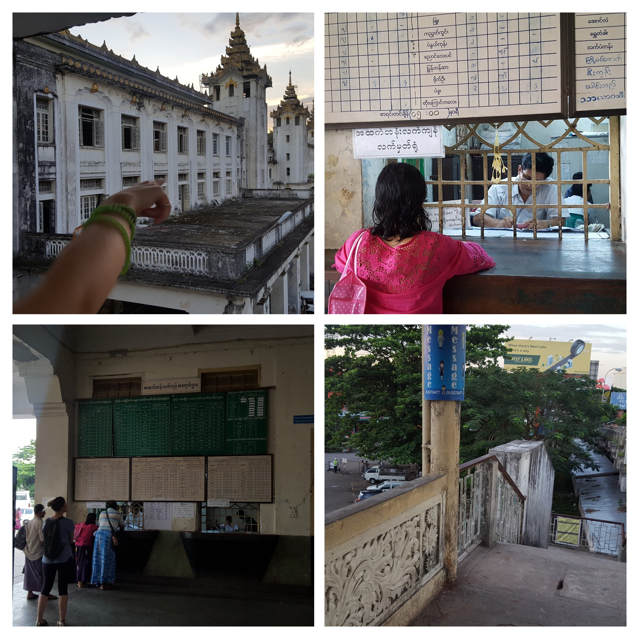 How to Get to Yangon Train Station
