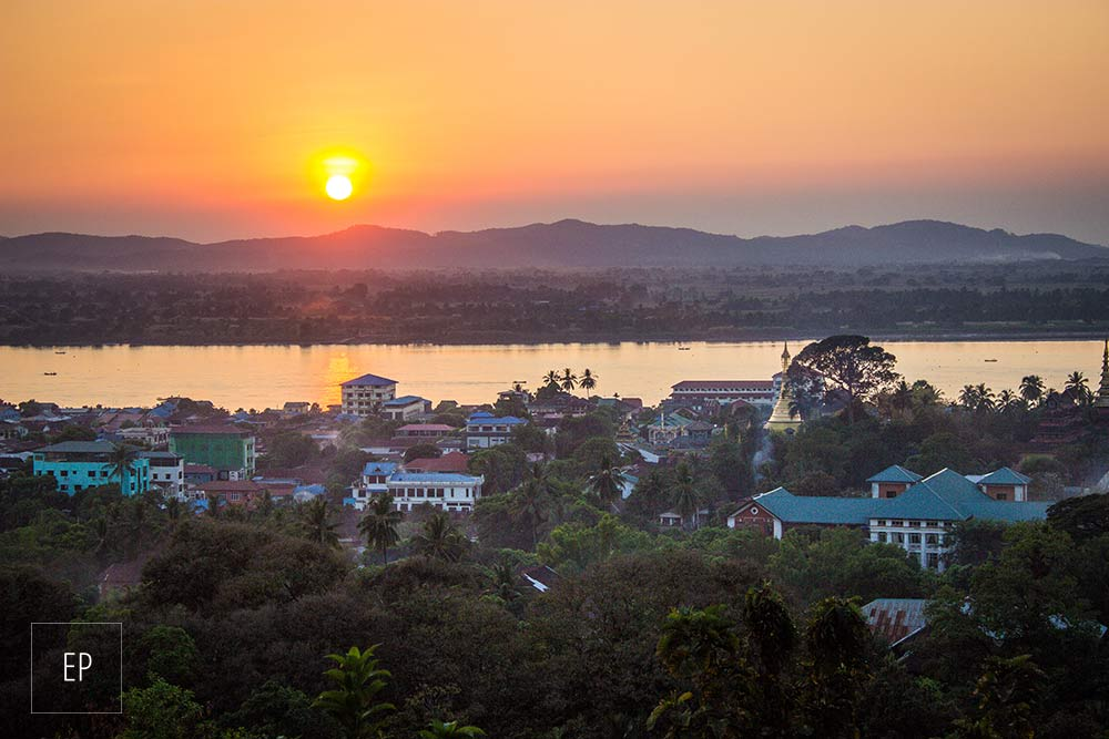 Mawlamyine sunset